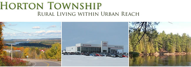 Horton Township - Rural Living within Urban Reach
